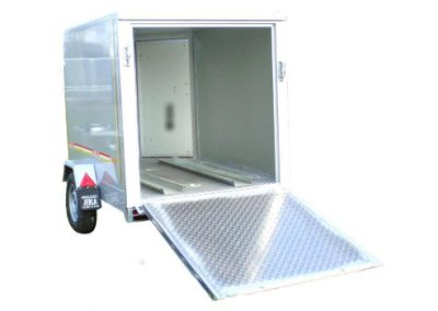 Trailers closed for motorcycle and quad model M5