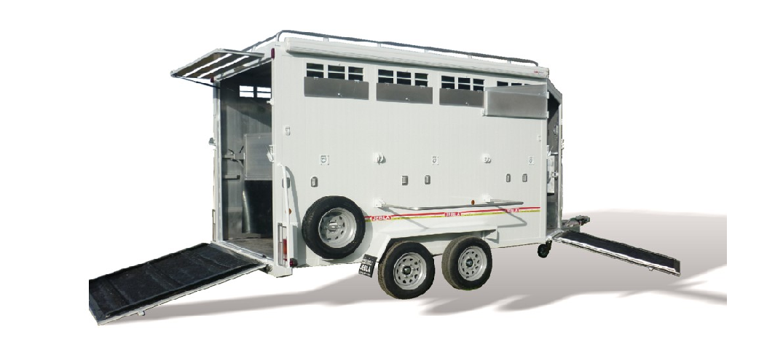 Remolque 3/4 caballos modelo B4