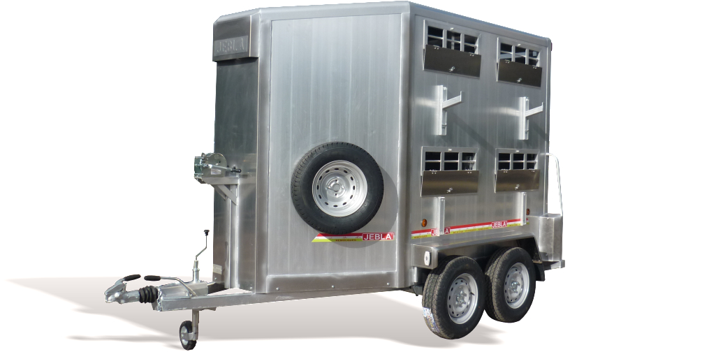 Remolque ganadero especial doble piso, ovino-porcino modelo F9