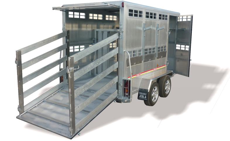 Remolque ganadero especial doble piso ovino porcino - Piso porta 2000 ...