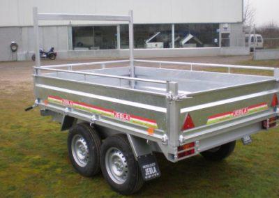 Remolque industrial gavanizado modelo I2