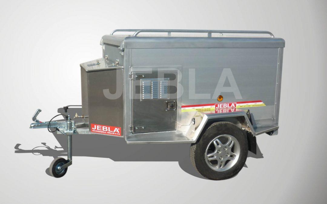 Remolque de caza aluminio modelo C1