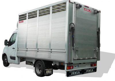 Carrocería ganadera completa de aluminio