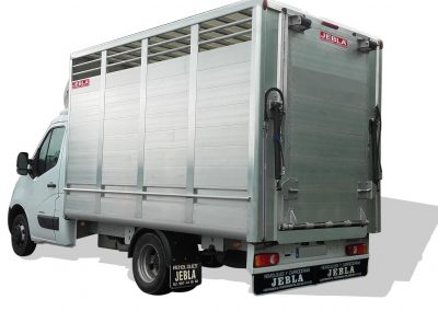 Full aluminum livestock body