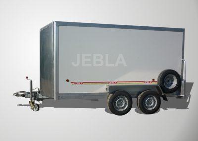 Remolque furgón modelo L