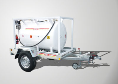 Trailer carrying fuel model D