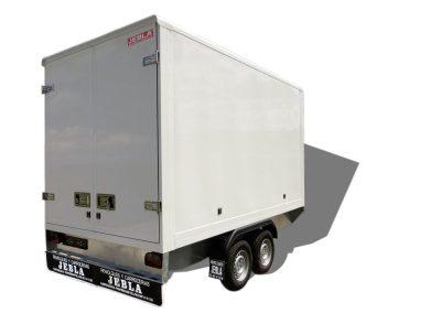 Trailer closed van