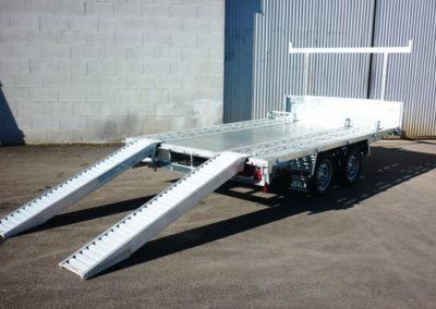 Porta-trailer machinery