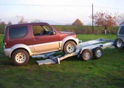 Remolque porta-vehículos
