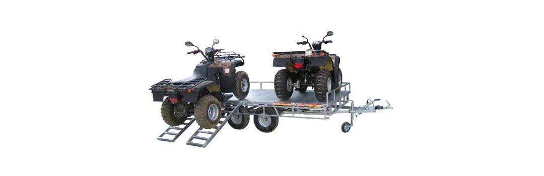Remolque porta quads modelo M4 dos quad