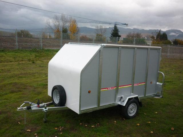 remorque ferm e mod le de motocyclette transportant m5 eco. Black Bedroom Furniture Sets. Home Design Ideas