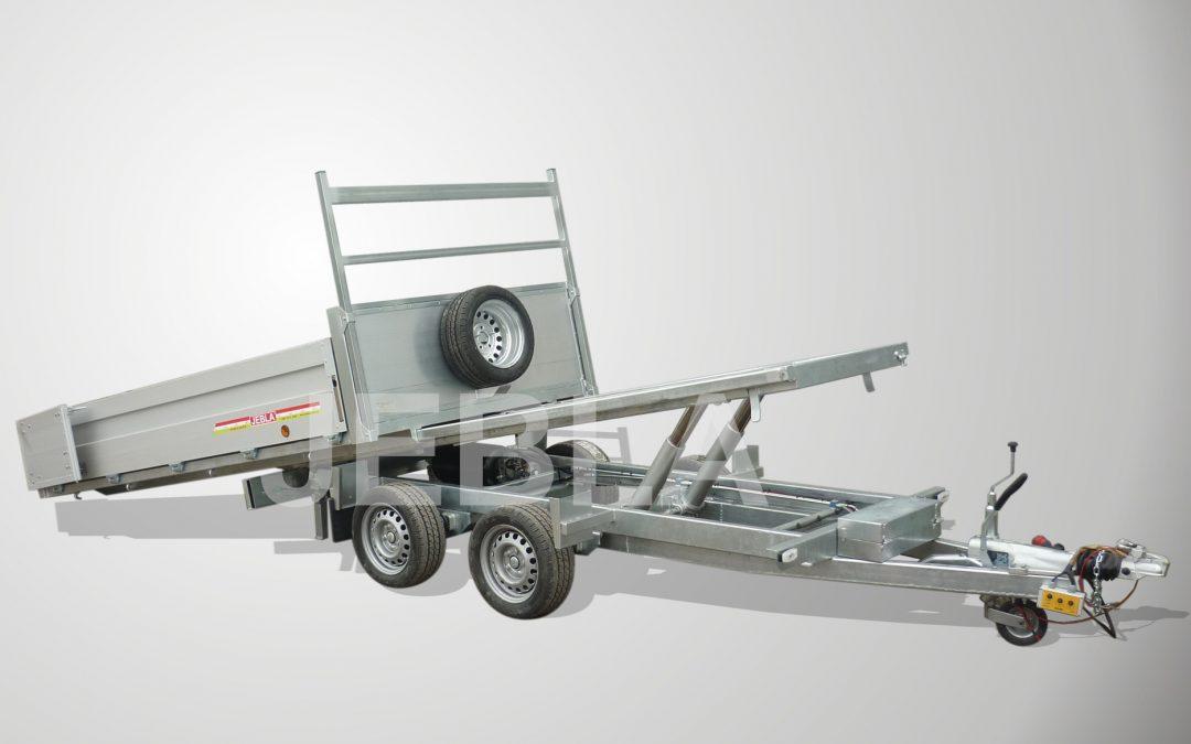 Remolque basculante plataforma deslizante modelo H4