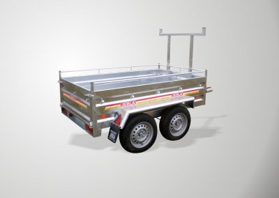 Multipurpose trailers two Model axes A2
