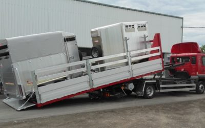 New delivery trailers