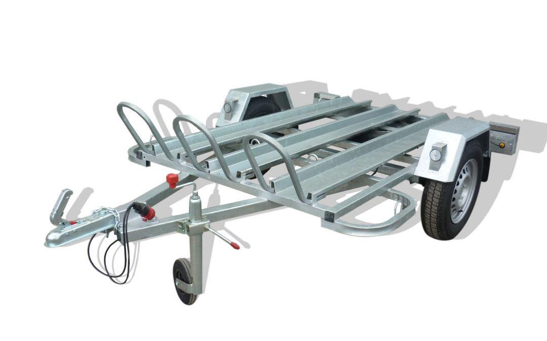Remolque tres motos carretera modelo M3