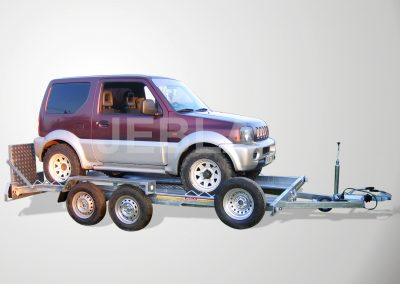 Remolque porta vehículos modelo E1