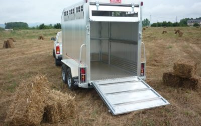 New livestock trailer ready and working