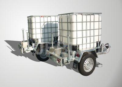 Remolque para transporte de agua