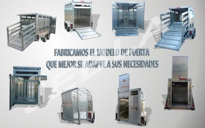 Different models of rear door manufacturing